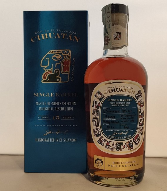 Single Barrel Chanlajun 15 Years - Cihuatàn - Astucciato