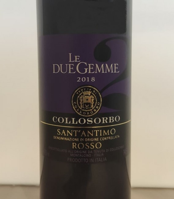 Le Due Gemme DOC 2018 Collosorbo