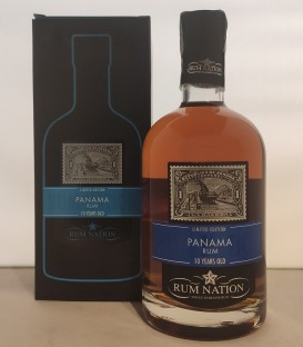 Rum Nation Panama 10 Years Old - Astucciato