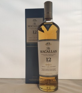 The Macallan Fine Oak 12 Years Old Triple Cask Matured Highland Single Malt Scotch Whisky - Astucciato