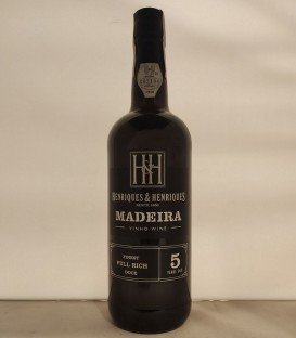 Madeira Full Rich 5 Years Old – Henriques & Henriques