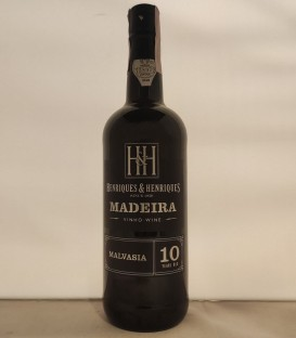 Madeira Malvasia 10 Years Old Malmsey – Henriques & Henriques