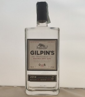 Gilpin's Extra Dry Gin 2014