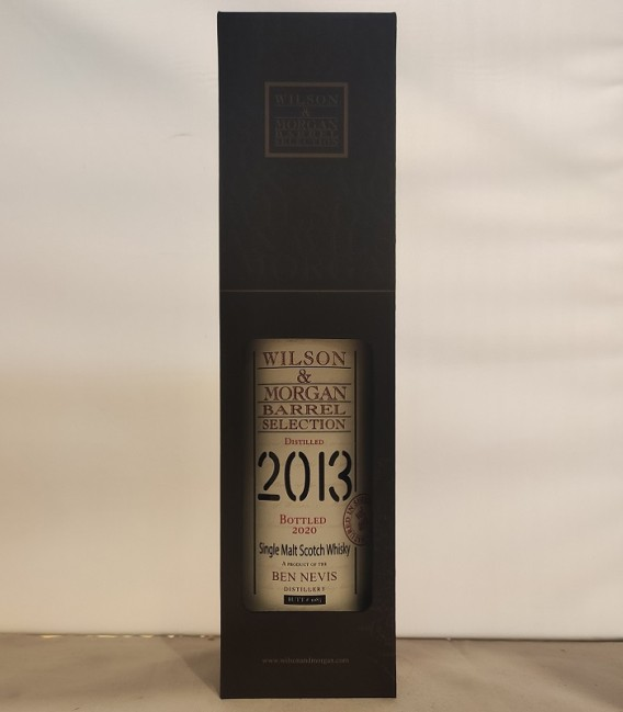 Ben Nevis Sherry Wood Distilled 2013 and Bottled 2020 – Wilson & Morgan – Astucciato