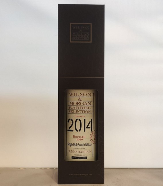Bunnahabhain Heavy Peat Distilled 2014 and Bottled 2020 – Wilson & Morgan – Astucciato