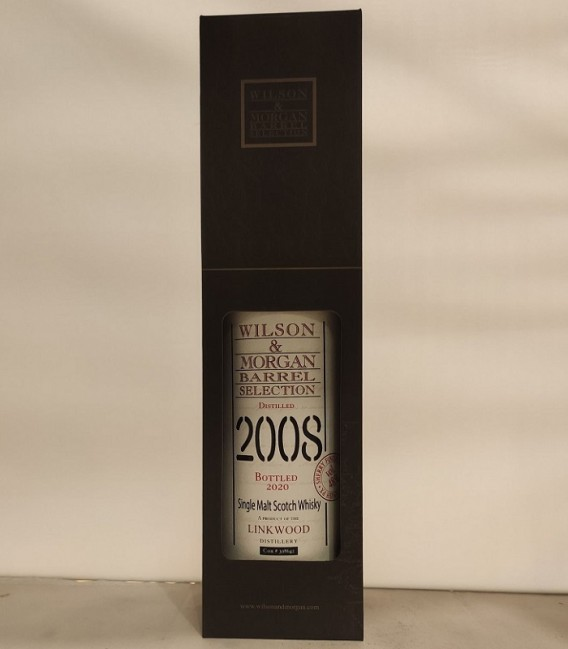 Linkwood Sherry Finish PX Distilled 2008 and Bottled 2020 – Wilson & Morgan – Astucciato