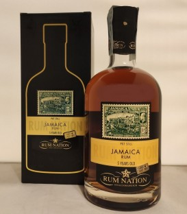 Rum Nation Jamaica 5 Years Old Pot Still Oloroso Sherry Finish Release 2019 - Astucciato
