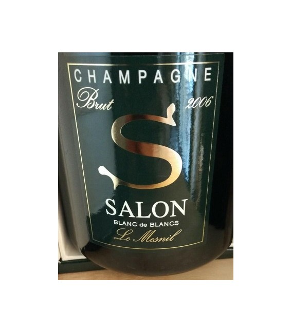 Salon le mesnil blanc de blancs brut 2006 astucciato vineria shop for Salon blanc de blanc