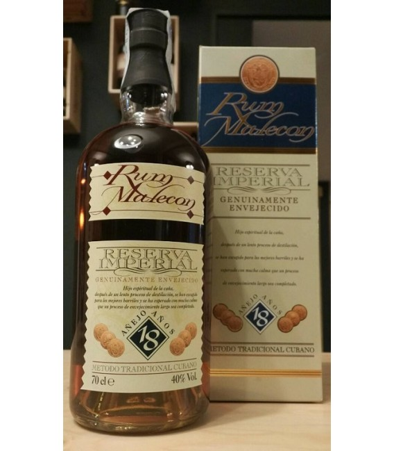Rum Malecon Reserva Imperial 18 Years Old - Astucciato