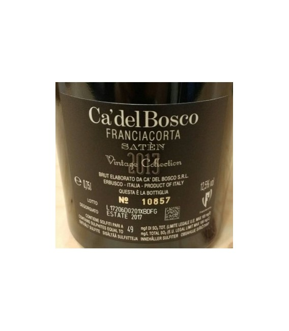 "Vintage Collection ""Saten"" 2013 - Ca' del Bosco - Franciacorta DOCG"