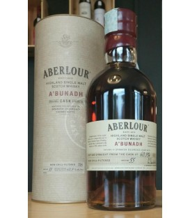 Aberlour A'Bunadh Cask strenght Highland Single Malt Scotch Whisky - Astucciato