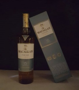 The Macallan Fine Oak 15 Years Old Triple Cask Matured Highland Single Malt Scotch Whisky - Astucciato