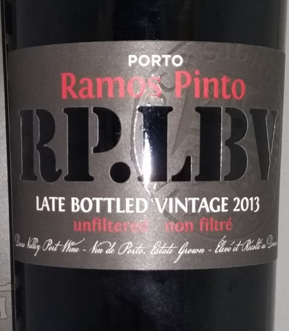 Porto Ramos Pinto RP. LBV Late Bottled Vintage 2013 Unfiltered - Astucciato