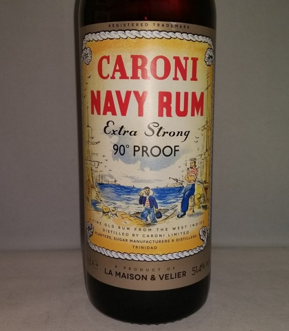 Caroni Navy Rum Extra Strong 90° Proof 100th Anniversary - Astucciato