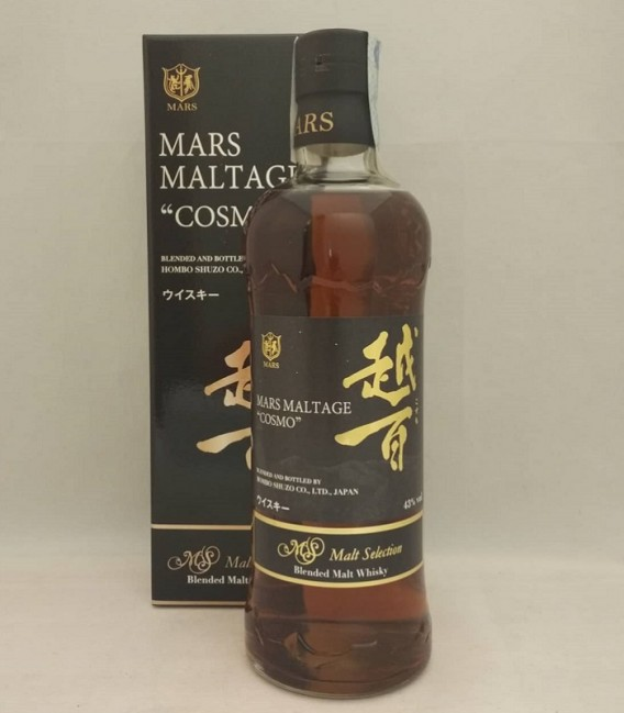 Mars Maltage Cosmo - Blended Malt Whisky - Astucciato