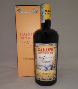Caroni 15 Years Old 100% Trinidad Rum Extra Strong 104° Proof - Astucciato