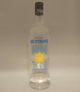 Eau d'Orange Triple Sec - Distillerie Bagnoli 1 Lt