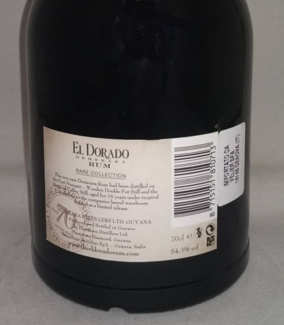 El Dorado Rum Rare Collection Port Mourant & Diamond 2001 - Astucciato