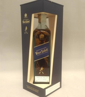 Johnnie Walker Blue Label Blended Scotch Whisky - Year of the Pig Limited Edition Design - Astucciato