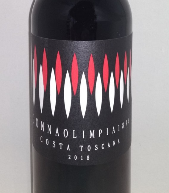 Tageto Costa Toscana Rosso IGT 2018 Donna Olimpia