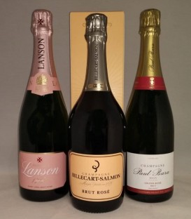 OFFERTA SPECIALE ROSE': Billecart Salmon + Paul Bara + Lanson