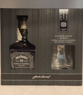 Jack Daniel's Single Barrel Select Tennessee Whiskey + 1 bicchiere