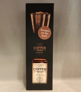 Copperhead Original Gin CL 50 + 2 cups