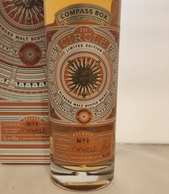 The Circle Blended Malt Scotch Whisky - Compass Box - Astucciato